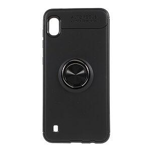Θήκη Samsung Galaxy A10 OEM Magnetic Ring Kickstand / Μαγνητικό δαχτυλίδι / Βάση στήριξης Πλάτη TPU μαύρο