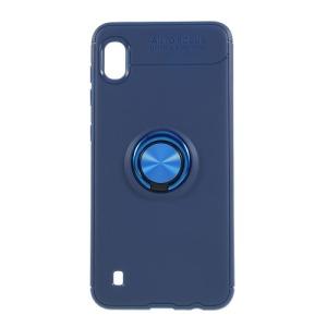 Θήκη Samsung Galaxy A10 OEM Magnetic Ring Kickstand / Μαγνητικό δαχτυλίδι / Βάση στήριξης Πλάτη TPU μπλε