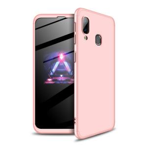 Θήκη GKK Full body Protection 360° από σκληρό πλαστικό για Samsung Galaxy A40 ροζ χρυσό