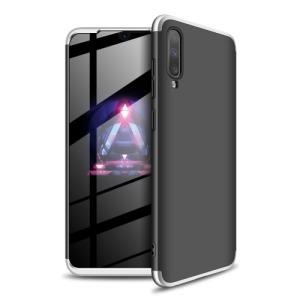 Θήκη GKK Full body Protection 360° από σκληρό πλαστικό για Samsung A70 μαύρο / ασημί