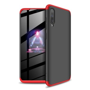 Θήκη GKK Full body Protection 360° από σκληρό πλαστικό για Samsung A70 μαύρο / κόκκινο