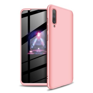 Θήκη GKK Full body Protection 360° από σκληρό πλαστικό για Samsung A70 ροζ χρυσό