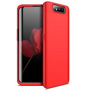 Θήκη GKK Full body Protection 360° από σκληρό πλαστικό για Samsung Galaxy A80 κόκκινο