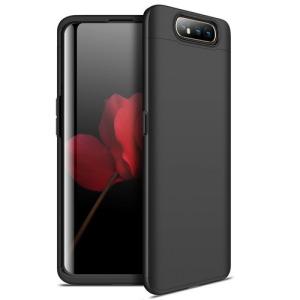 Θήκη GKK Full body Protection 360° από σκληρό πλαστικό για Samsung Galaxy A80 μαύρο