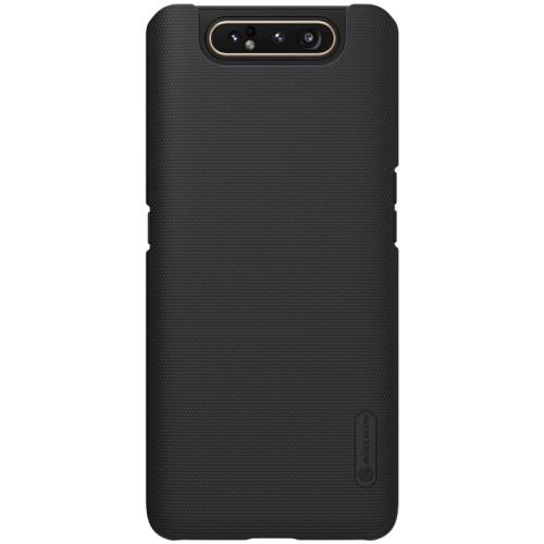 Θήκη Samsung Galaxy A80 NiLLkin Super Frosted Shield Series Πλάτη από σκληρό πλαστικό μαύρο