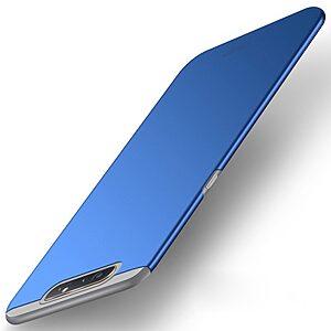 Θήκη Samsung Galaxy A80 MOFI Shield Slim Series Πλάτη από σκληρό πλαστικό μπλε