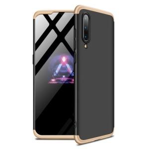 Θήκη GKK Full body Protection 360° από σκληρό πλαστικό για Xiaomi Mi 9 μαύρο / χρυσό