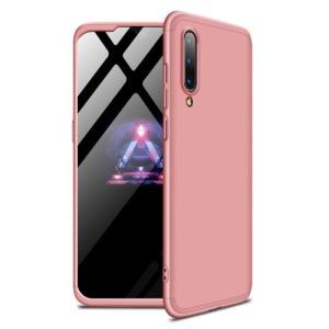 Θήκη GKK Full body Protection 360° από σκληρό πλαστικό για Xiaomi Mi 9 ροζ χρυσό