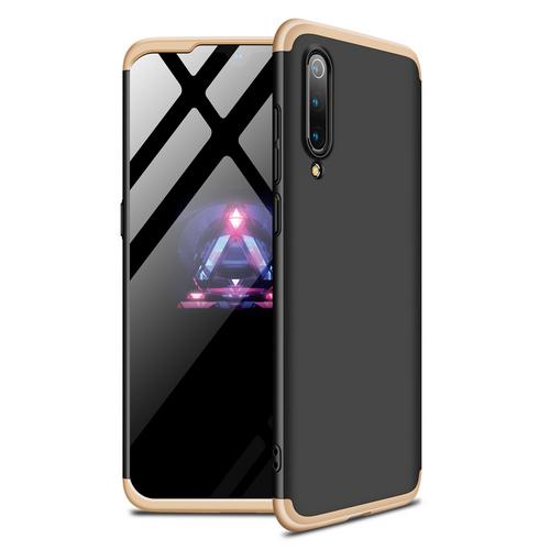Θήκη GKK Full body Protection 360° από σκληρό πλαστικό για Xiaomi Mi 9 SE μαύρο / χρυσό