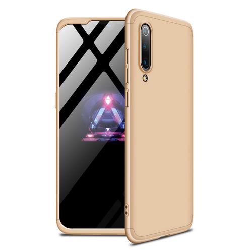 Θήκη GKK Full body Protection 360° από σκληρό πλαστικό για Xiaomi Mi 9 SE χρυσό
