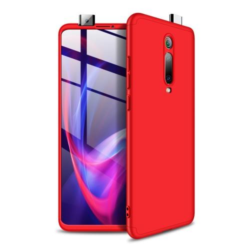 Θήκη GKK Full body Protection 360° από σκληρό πλαστικό για Xiaomi Mi 9T / Redmi K20 κόκκινο
