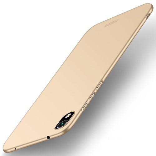 Θήκη Xiaomi Redmi 7A MOFI Shield Slim Series Πλάτη από σκληρό πλαστικό χρυσό