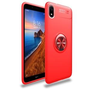 Θήκη Xiaomi Redmi 7A OEM Magnetic Ring Kickstand / Μαγνητικό δαχτυλίδι / Βάση στήριξης Πλάτη TPU κόκκινο