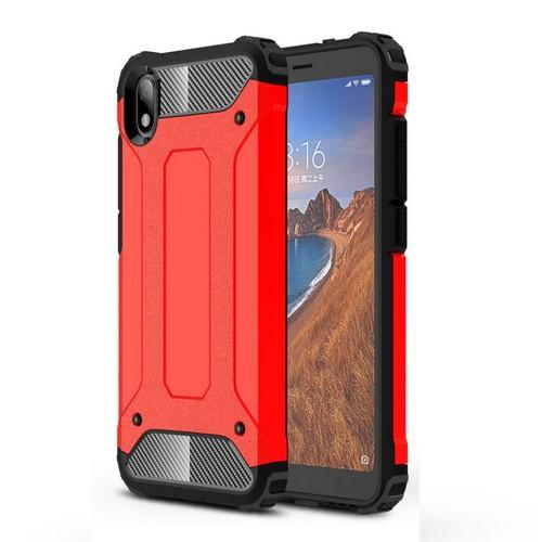 Θήκη Xiaomi Redmi 7A OEM Armor Guard Hybrid Πλάτη από σκληρό πλαστικό και TPU κόκκινο