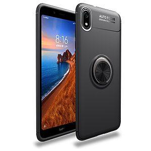 Θήκη Xiaomi Redmi 7A OEM Magnetic Ring Kickstand / Μαγνητικό δαχτυλίδι / Βάση στήριξης Πλάτη TPU μαύρο