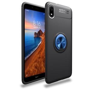 Θήκη Xiaomi Redmi 7A OEM Magnetic Ring Kickstand / Μαγνητικό δαχτυλίδι / Βάση στήριξης Πλάτη TPU μαύρο / μπλε