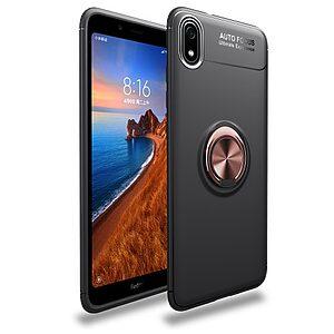 Θήκη Xiaomi Redmi 7A OEM Magnetic Ring Kickstand / Μαγνητικό δαχτυλίδι / Βάση στήριξης Πλάτη TPU μαύρο / ροζ χρυσό