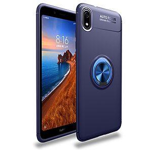 Θήκη Xiaomi Redmi 7A OEM Magnetic Ring Kickstand / Μαγνητικό δαχτυλίδι / Βάση στήριξης Πλάτη TPU μπλε