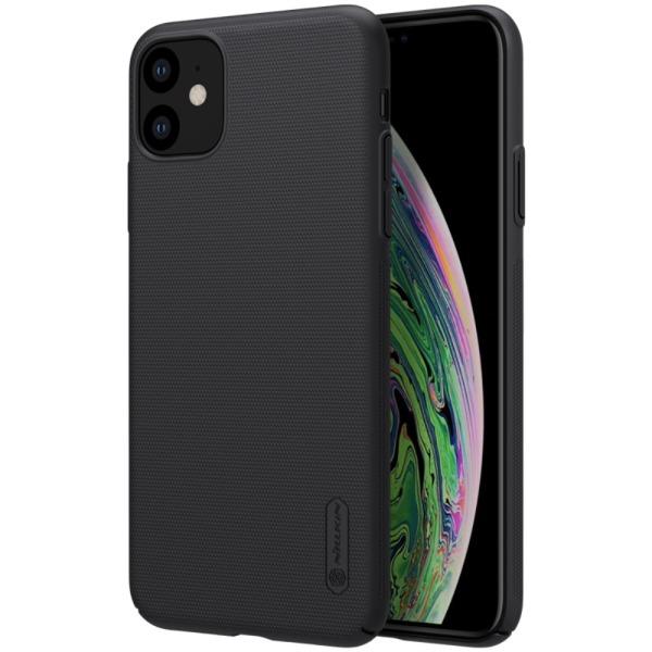 Θήκη iPhone 11 NiLLkin Super Frosted Shield Series Πλάτη από σκληρό πλαστικό μαύρο