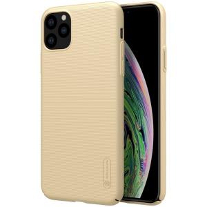 Θήκη iPhone 11 Pro Max NiLLkin Super Frosted Shield Series Πλάτη από σκληρό πλαστικό χρυσό