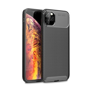 Θήκη iPhone 11 Pro Max OEM Airbag Carbon Series Πλάτη TPU μαύρο