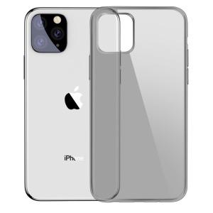 Θήκη iPhone 11 Pro Max BASEUS Simple Series ημιδιάφανη Πλάτη TPU μαύρο