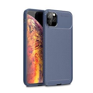 Θήκη iPhone 11 Pro Max OEM Airbag Carbon Series Πλάτη TPU μπλε