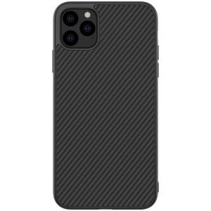 Θήκη iPhone 11 Pro NiLLkin Synthetic Fiber Series Πλάτη από σκληρό πλαστικό μαύρο