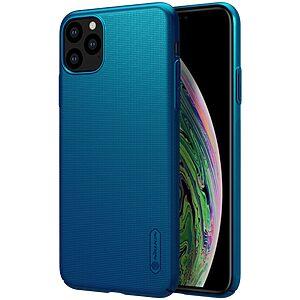 Θήκη iPhone 11 Pro NiLLkin Super Frosted Shield Series Πλάτη από σκληρό πλαστικό μπλε