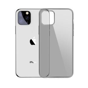 Θήκη iPhone 11 Pro BASEUS Simple Series ημιδιάφανη Πλάτη TPU μαύρο