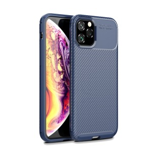 Θήκη iPhone 11 Pro OEM Airbag Carbon Series Πλάτη TPU μπλε