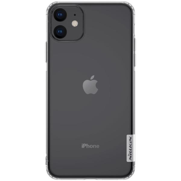Θήκη iPhone 11 NiLLkin Nature Series 0.6mm διάφανη Πλάτη TPU
