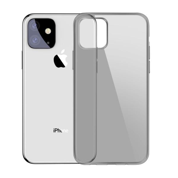 Θήκη iPhone 11 BASEUS Simple Series ημιδιάφανη Πλάτη TPU μαύρο