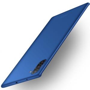 Θήκη Samsung Galaxy Note 10 MOFI Shield Slim Series Πλάτη από σκληρό πλαστικό μπλε