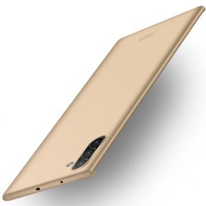 Θήκη Samsung Galaxy Note 10 MOFI Shield Slim Series Πλάτη από σκληρό πλαστικό χρυσό