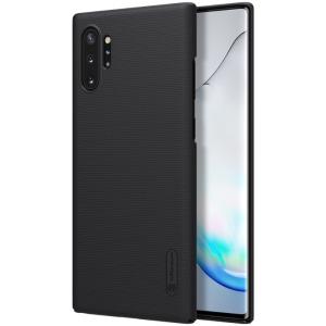 Θήκη Samsung Galaxy Note 10 Plus NiLLkin Super Frosted Shield Series Πλάτη από σκληρό πλαστικό μαύρο