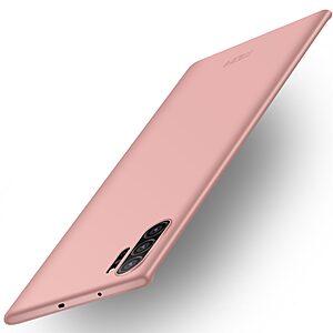 Θήκη Samsung Galaxy Note 10 Plus MOFI Shield Slim Series Πλάτη από σκληρό πλαστικό ροζ χρυσό