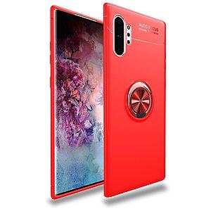 Θήκη Samsung Galaxy Note 10 Plus OEM Magnetic Ring Kickstand / Μαγνητικό δαχτυλίδι / Βάση στήριξης Πλάτη TPU κόκκινο