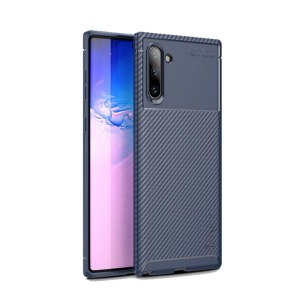 Θήκη Samsung Galaxy Note 10 IPAKY Airbag Carbon Series Πλάτη TPU μπλε