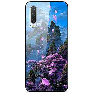 Θήκη Xiaomi Mi A3 OEM σχέδιο Flower Mountain Πλάτη TPU