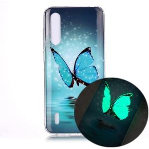 Θήκη Xiaomi Mi A3 OEM σχέδιο Blue Butterfly Πλάτη TPU