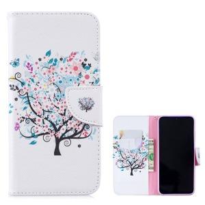 Θήκη Xiaomi Redmi Note 7 OEM σχέδιο Flowered Tree με βάση στήριξης