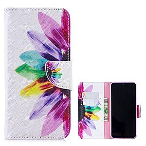 Θήκη Xiaomi Redmi Note 7 OEM σχέδιο Colorful Petals με βάση στήριξης