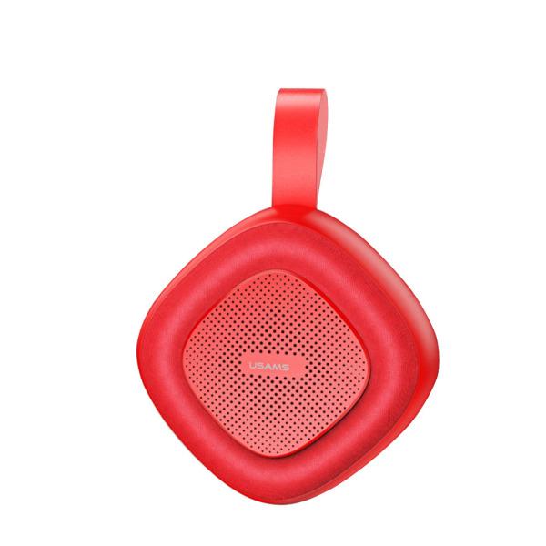 USAMS US-YX004 Rubiks Series Bluetooth v5.0 ασύρματο ηχείο - κόκκινο