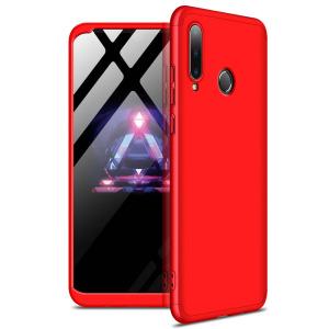 Θήκη GKK Full body Protection 360° από σκληρό πλαστικό για Huawei P30 lite κόκκινο