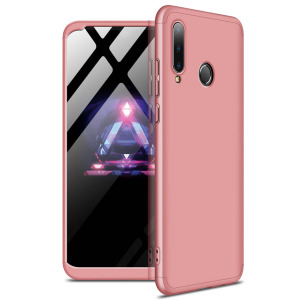 Θήκη GKK Full body Protection 360° από σκληρό πλαστικό για Huawei P30 lite ροζ χρυσό
