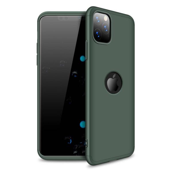 Θήκη GKK Full body Protection 360° από σκληρό πλαστικό για iPhone 11 Pro Max πράσινο σκούρο