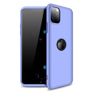 Θήκη GKK Full body Protection 360° από σκληρό πλαστικό για iPhone 11 Pro μωβ