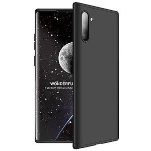 Θήκη GKK Full body Protection 360° από σκληρό πλαστικό για Samsung Galaxy Note 10 μαύρο