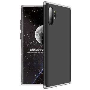 Θήκη GKK Full body Protection 360° από σκληρό πλαστικό για Samsung Galaxy Note 10 Plus μαύρο / ασημί